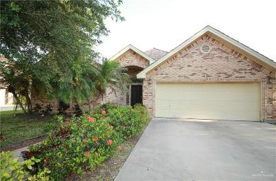 McAllen TX Single Family Home For Sale: $215,000