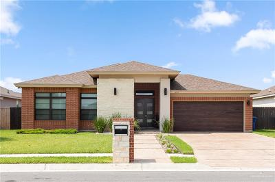 McAllen TX Single Family Home For Sale: $269,900