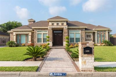 Edinburg Single Family Home For Sale: 5406 Glamour Drive