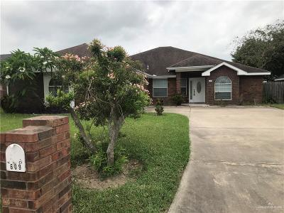 Edinburg Single Family Home For Sale: 609 Baltic Avenue