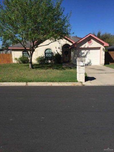 Pharr Single Family Home For Sale: 1307 E Maurer Street