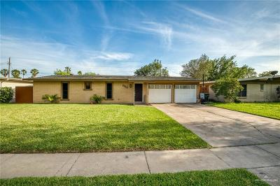 Harlingen Single Family Home For Sale: 2314 E Washington Avenue