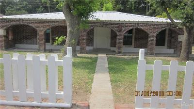 McAllen TX Single Family Home For Sale: $139,900