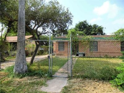 McAllen TX Single Family Home For Sale: $82,000
