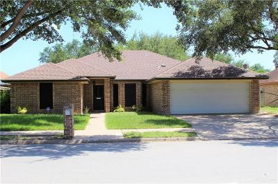 McAllen TX Single Family Home For Sale: $184,900