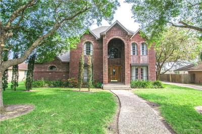 Harlingen Single Family Home For Sale: 5117 Palm Valley Drive