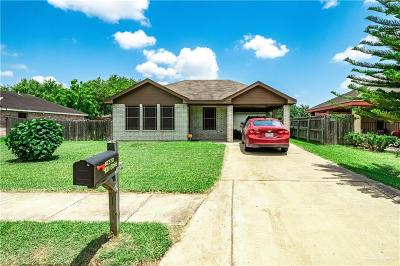 Weslaco Single Family Home For Sale: 4011 Borg Drive