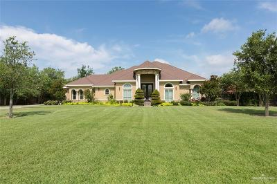 Weslaco Single Family Home For Sale: 2614 Wildwood Drive