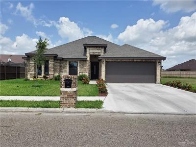 Pharr Single Family Home For Sale: 8604 S Estrella Street