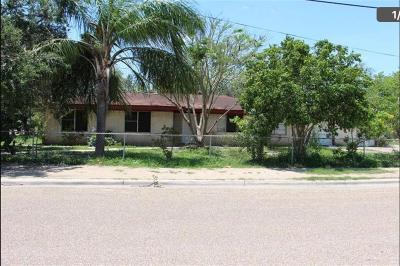 Pharr Single Family Home For Sale: 302 W Hawk Avenue