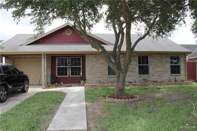 Weslaco Single Family Home For Sale: 4016 Steffy Drive