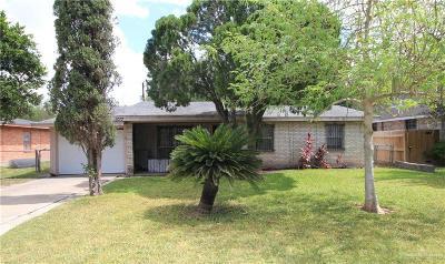 Pharr Single Family Home For Sale: 1017 E Alan Street