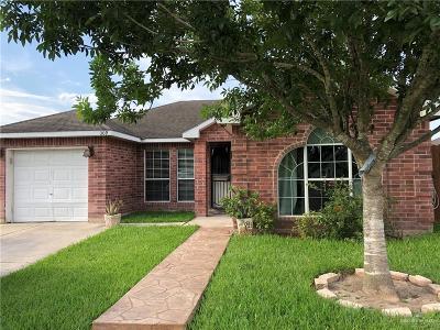 Pharr Single Family Home For Sale: 309 Monica Avenue