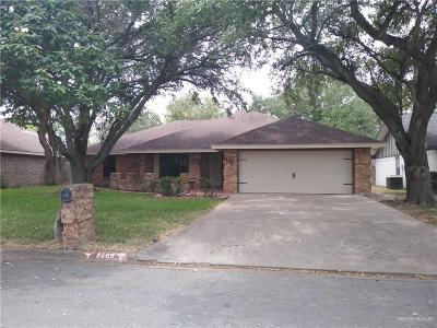 McAllen TX Single Family Home For Sale: $189,000