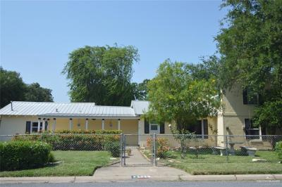 McAllen TX Single Family Home For Sale: $185,000
