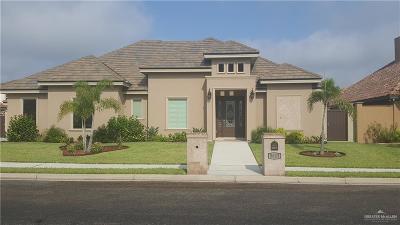 Edinburg Single Family Home For Sale: 3623 Ebro Drive