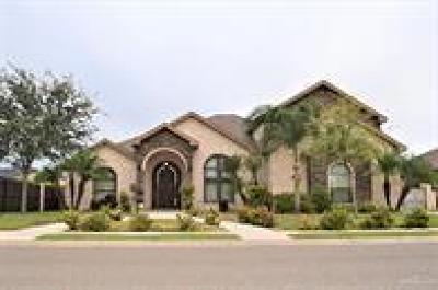 Edinburg Single Family Home For Sale: 3308 Southern Breeze Avenue