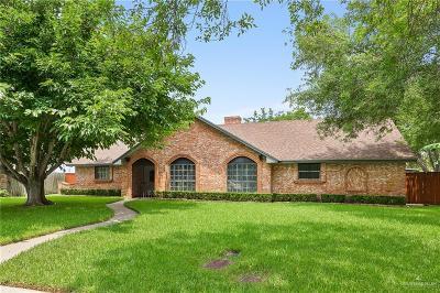 Harlingen Single Family Home For Sale: 1301 Oak Court