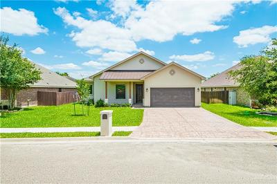 McAllen TX Single Family Home For Sale: $189,900