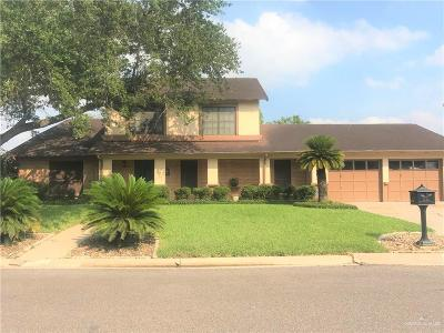 Harlingen Single Family Home For Sale: 2508 Lotus Street