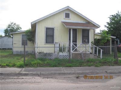 Mercedes Single Family Home For Sale: 520 N Missouri Avenue