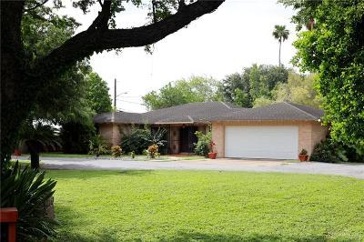 Mercedes Single Family Home For Sale: 112 Dawson Road