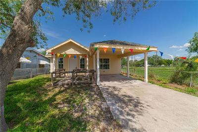 Mercedes Single Family Home For Sale: 932 S Garza Street