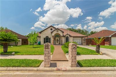 Weslaco Single Family Home For Sale: 3901 Gabriella Drive