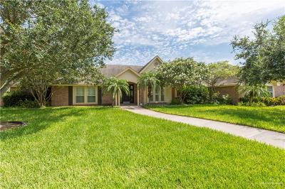Weslaco Single Family Home For Sale: 1414 Woodland Drive