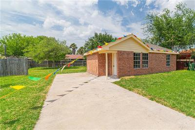 Weslaco Single Family Home For Sale: 3809 Steffy Drive