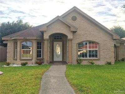 McAllen TX Single Family Home For Sale: $192,000
