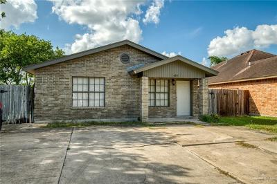 Harlingen Single Family Home For Sale: 601 E Taft Avenue