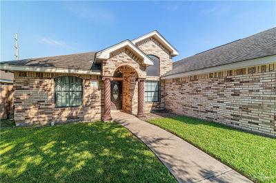 McAllen TX Single Family Home For Sale: $159,000