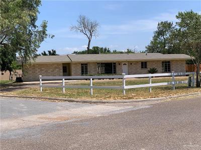 Pharr Single Family Home For Sale: 1201 S Danner Road