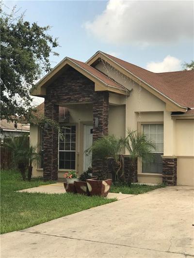 Pharr Single Family Home For Sale: 2304 Yellowfin Avenue