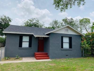 McAllen Single Family Home For Sale: 408 N 6th Street