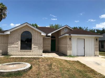 Pharr Single Family Home For Sale: 3400 N Tequila Drive