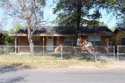 Pharr Single Family Home For Sale: 714 N Esperanza Street