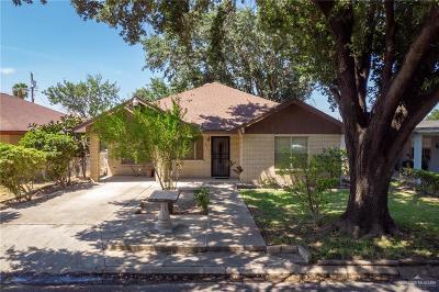 McAllen TX Single Family Home For Sale: $75,000