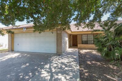 Pharr Single Family Home For Sale: 2401 S Jackson Road