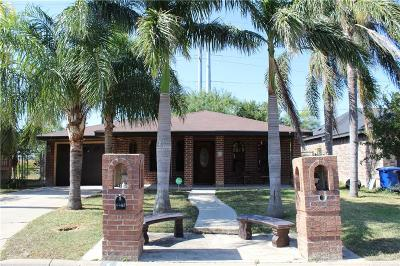 McAllen TX Single Family Home For Sale: $109,900