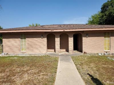 McAllen TX Single Family Home For Sale: $120,000