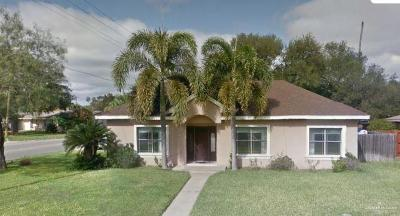 McAllen TX Single Family Home For Sale: $145,000