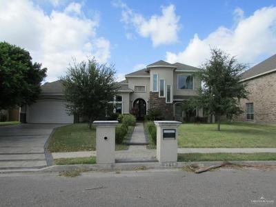 McAllen TX Single Family Home For Sale: $255,800