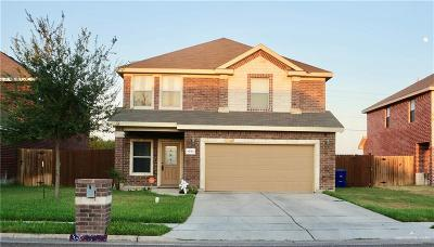 McAllen TX Single Family Home For Sale: $185,000