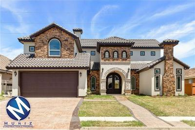 McAllen TX Single Family Home For Sale: $399,000
