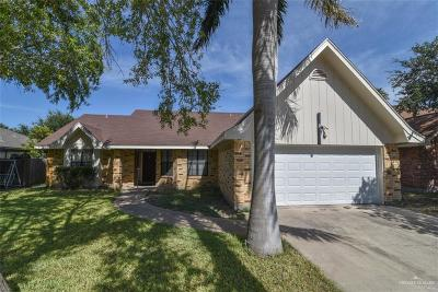 McAllen TX Single Family Home For Sale: $155,000