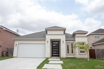 Edinburg Single Family Home For Sale: 3619 Morris Street