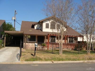 McAllen TX Single Family Home For Sale: $140,000