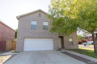 McAllen TX Single Family Home For Sale: $192,000